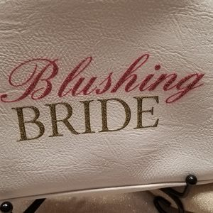 Bags - Blushing Bride Zipped w/tassel Cosmetic Bag